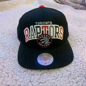 Toronto Raptors Reflective Snapback Black Red Hat